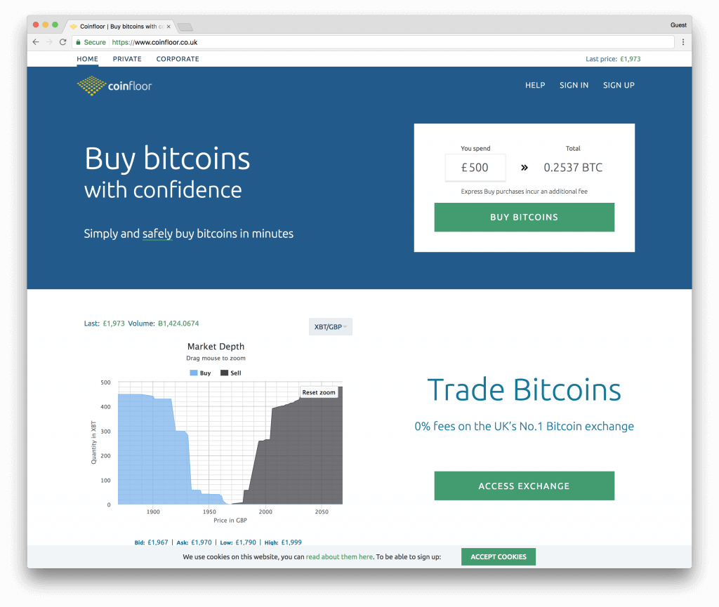Coinfloor buy bitcoins with bank transfer