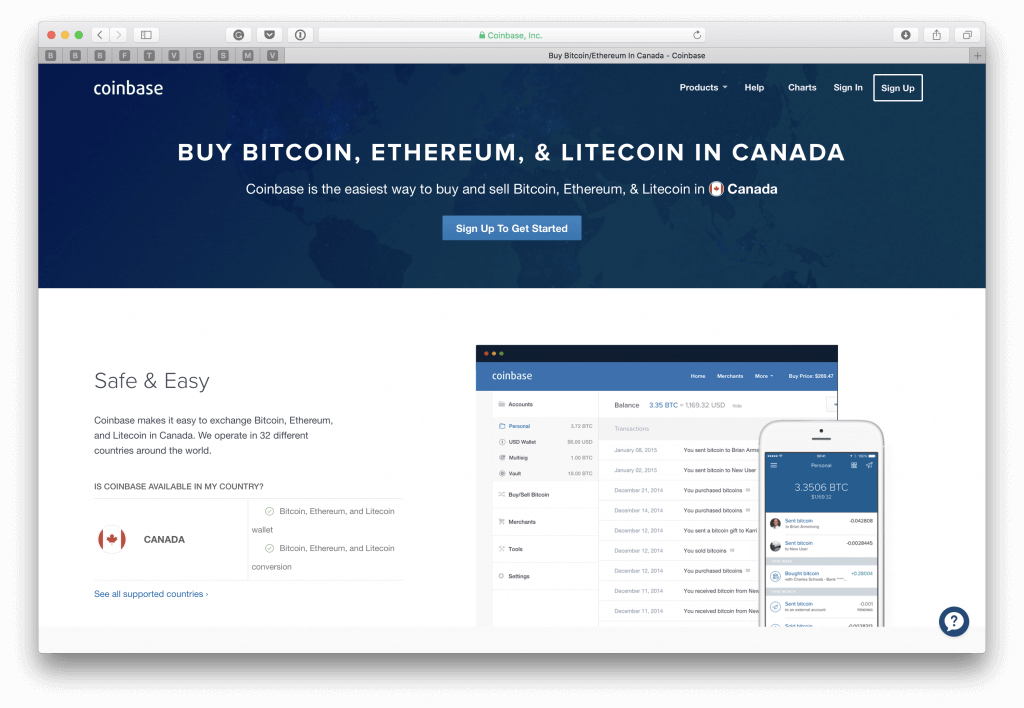 Where to buy BTC in Canada