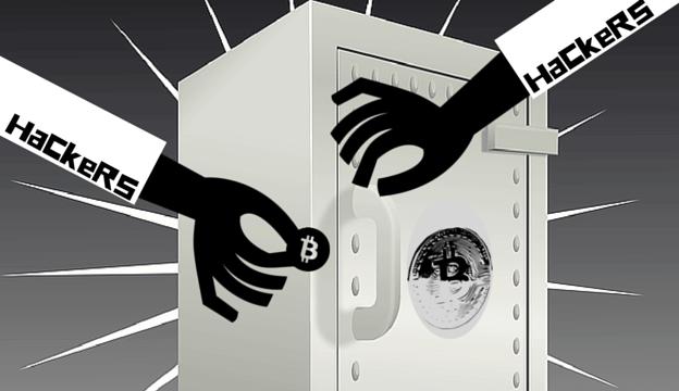 Hacker attacks on BTC