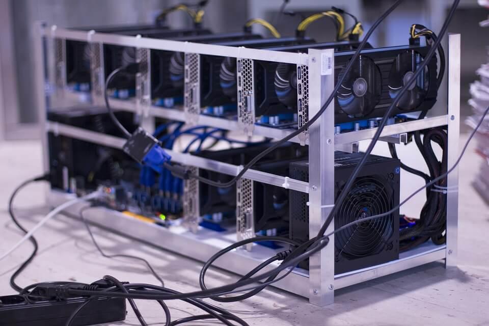 Mining of bitcoin