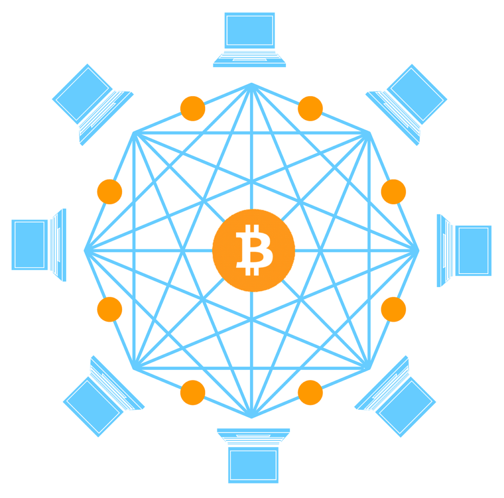 Transparency of the blockchain