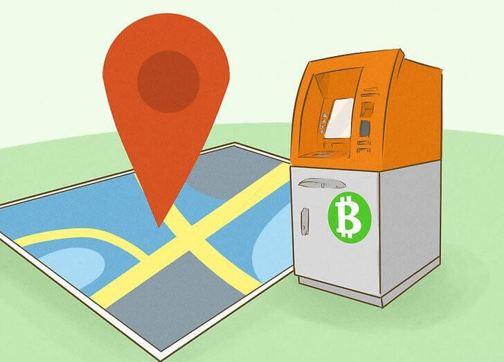 Buy crypto coins at ATM